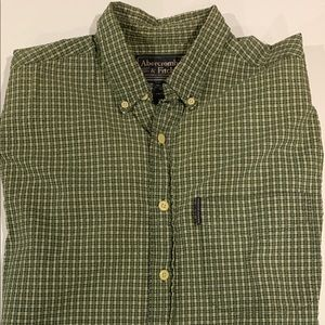 Abercrombie and Fitch long sleeve buttondown shirt